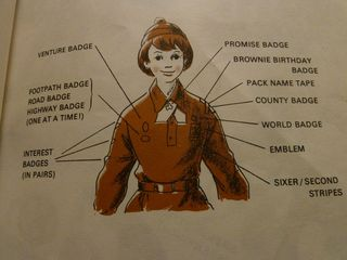 The old fashioned Brownie Guide